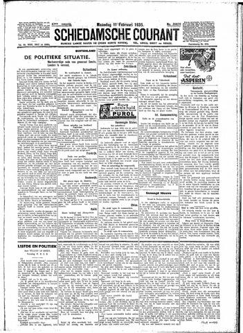 Schiedamsche Courant 1935-02-11