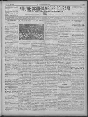 Nieuwe Schiedamsche Courant 1933-10-09