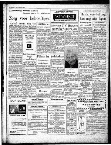 Rotterdamsch Parool / De Schiedammer 1963-09-07