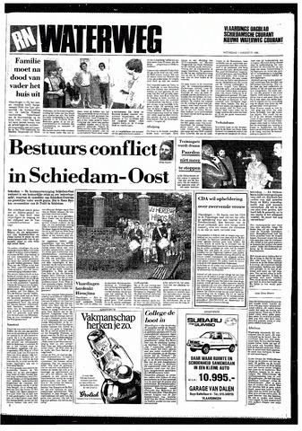 Rotterdamsch Nieuwsblad / Schiedamsche Courant / Rotterdams Dagblad / Waterweg / Algemeen Dagblad 1985-08-07