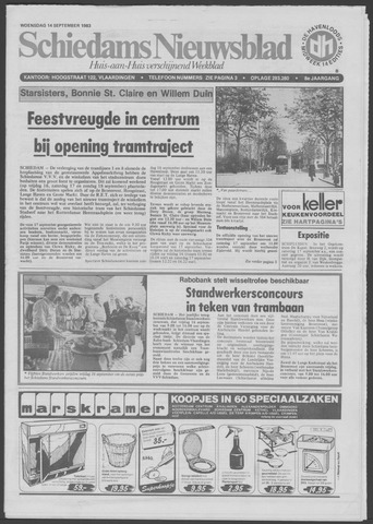 Schiedams Nieuwsblad 1983-09-14