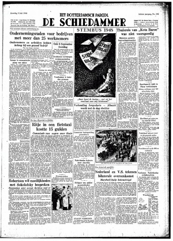 Rotterdamsch Parool / De Schiedammer 1948-07-03