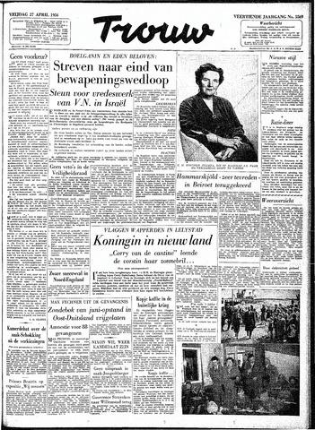 Trouw / De Rotterdammer 1956-04-27