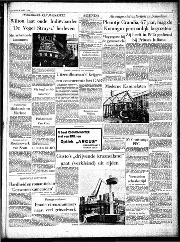 Rotterdamsch Parool / De Schiedammer 1962-09-08