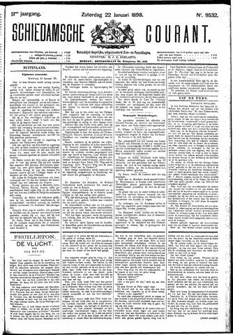 Schiedamsche Courant 1898-01-22