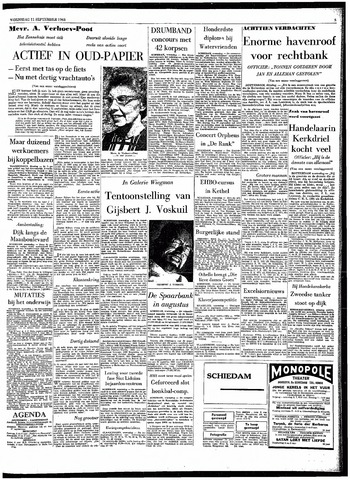 Rotterdamsch Parool / De Schiedammer 1963-09-11