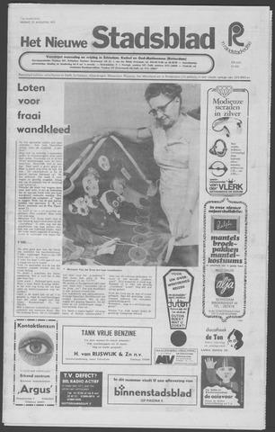 Het Nieuwe Stadsblad 1972-08-25