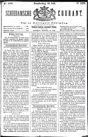 Schiedamsche Courant 1881-07-14