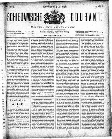 Schiedamsche Courant 1885-05-21
