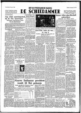 Rotterdamsch Parool / De Schiedammer 1948-04-22