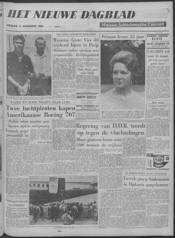 Nieuwe Schiedamsche Courant 1961-08-04