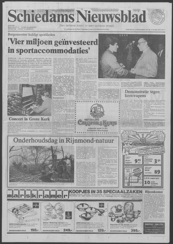 Schiedams Nieuwsblad 1981-11-04