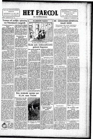 Rotterdamsch Parool / De Schiedammer 1946-08-17