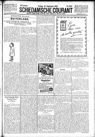 Schiedamsche Courant 1927-09-16