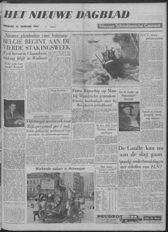 Nieuwe Schiedamsche Courant 1961-01-10