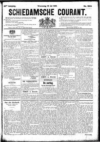Schiedamsche Courant 1916-07-19