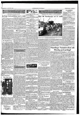 Rotterdamsch Nieuwsblad / Schiedamsche Courant / Rotterdams Dagblad / Waterweg / Algemeen Dagblad 1953-08-05