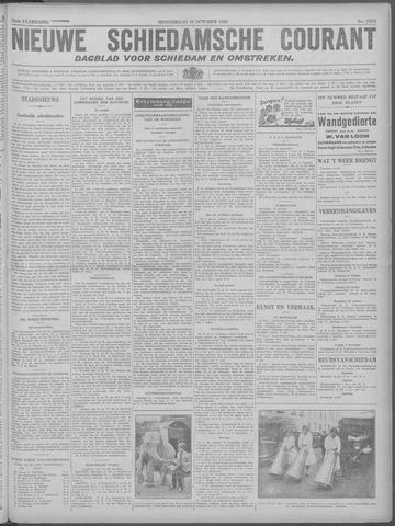 Nieuwe Schiedamsche Courant 1929-10-24