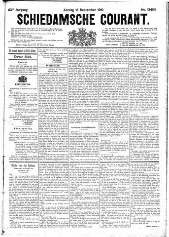 Schiedamsche Courant 1910-09-18