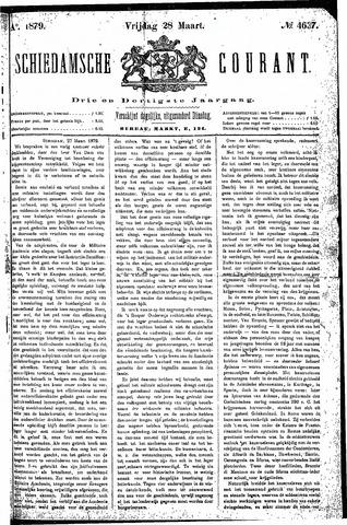 Schiedamsche Courant 1879-03-28
