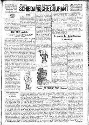 Schiedamsche Courant 1927-09-20