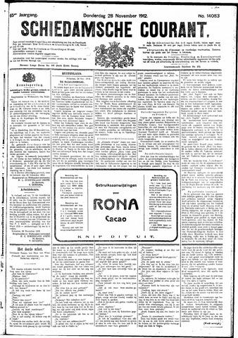 Schiedamsche Courant 1912-11-28