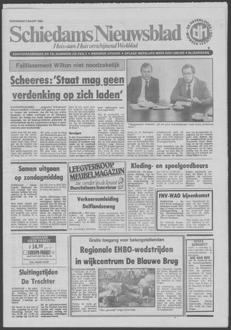 Schiedams Nieuwsblad 1984-03-07