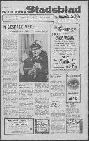 Het Nieuwe Stadsblad 1971-01-15