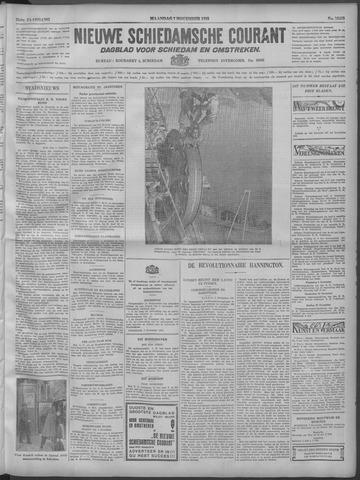 Nieuwe Schiedamsche Courant 1932-11-07