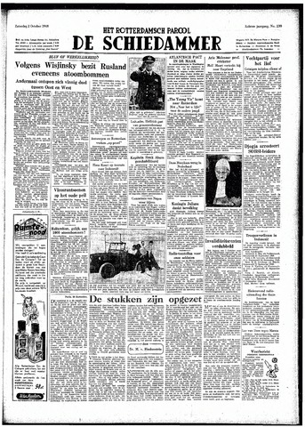 Rotterdamsch Parool / De Schiedammer 1948-10-02