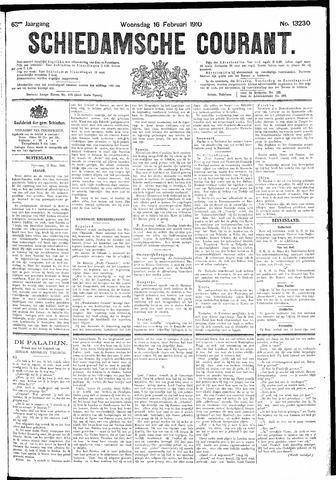Schiedamsche Courant 1910-02-16
