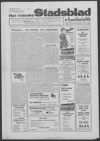 Het Nieuwe Stadsblad 1961-06-23
