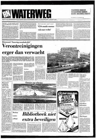 Rotterdamsch Nieuwsblad / Schiedamsche Courant / Rotterdams Dagblad / Waterweg / Algemeen Dagblad 1985-11-21