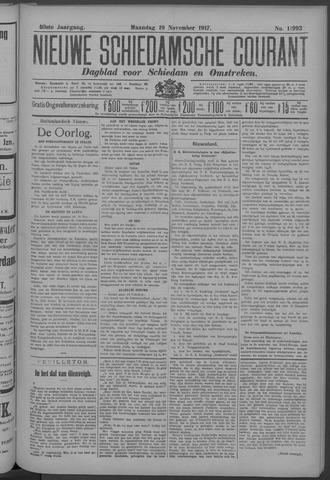 Nieuwe Schiedamsche Courant 1917-11-19