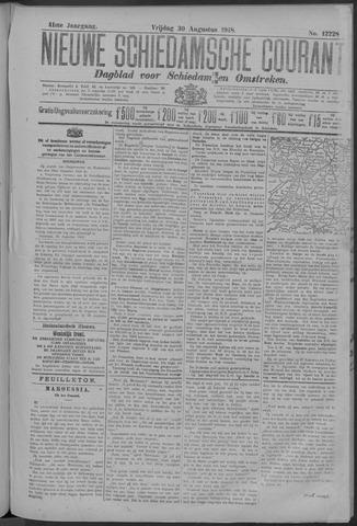 Nieuwe Schiedamsche Courant 1918-08-30