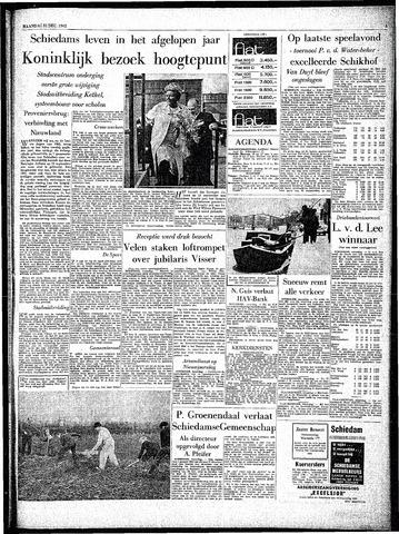 Rotterdamsch Parool / De Schiedammer 1962-12-31