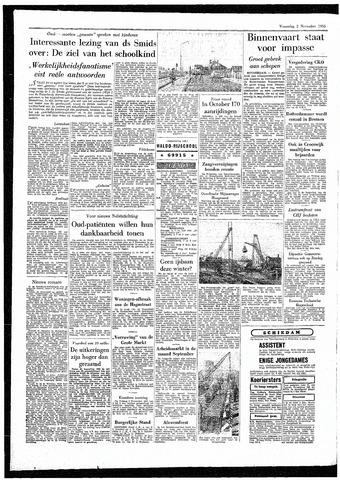 Rotterdamsch Parool / De Schiedammer 1955-11-02