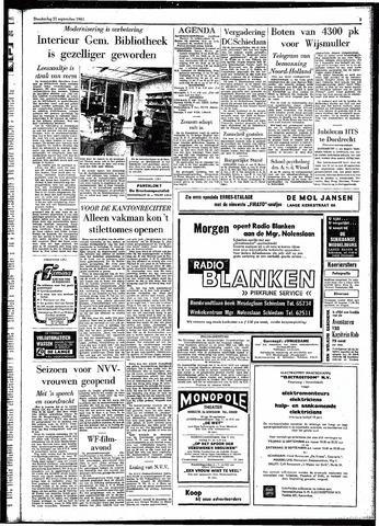 Rotterdamsch Parool / De Schiedammer 1961-09-21