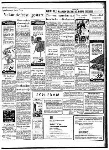 Rotterdamsch Parool / De Schiedammer 1963-08-09