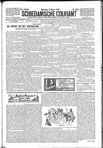Schiedamsche Courant 1931-03-09