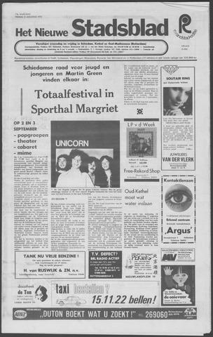 Het Nieuwe Stadsblad 1972-08-11