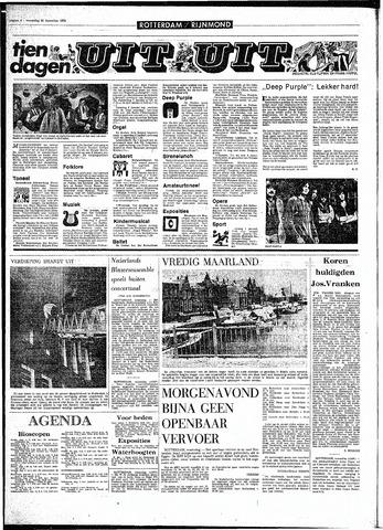 Rotterdamsch Parool / De Schiedammer 1970-12-30
