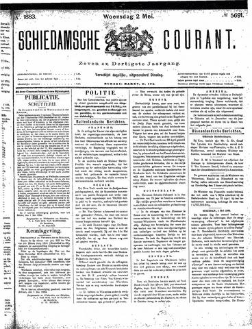Schiedamsche Courant 1883-05-02