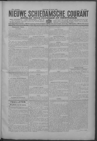 Nieuwe Schiedamsche Courant 1925-01-29