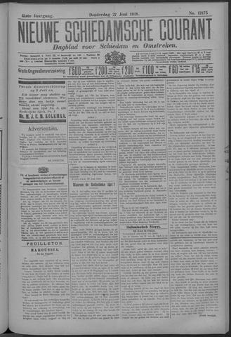 Nieuwe Schiedamsche Courant 1918-06-27