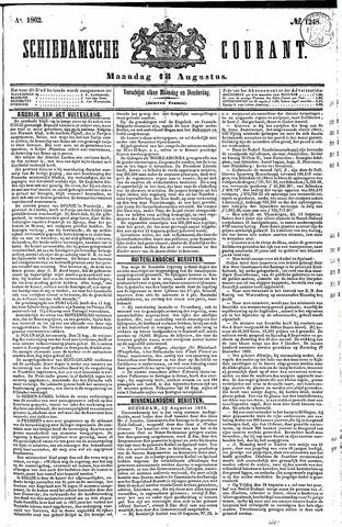 Schiedamsche Courant 1862-08-18