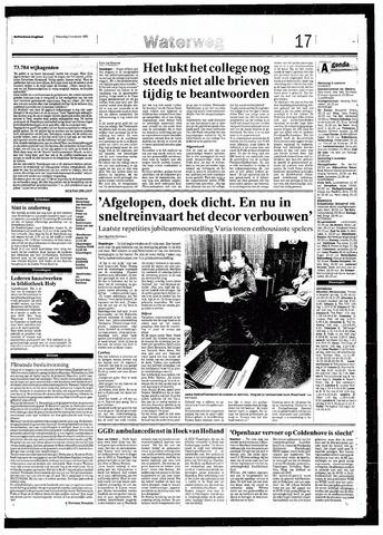 Rotterdamsch Nieuwsblad / Schiedamsche Courant / Rotterdams Dagblad / Waterweg / Algemeen Dagblad 1993-11-03