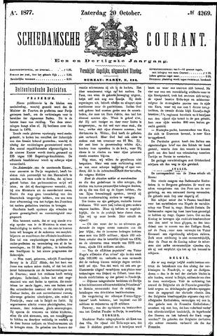 Schiedamsche Courant 1877-10-20