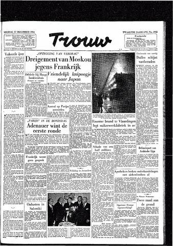 Trouw / De Rotterdammer 1954-12-17
