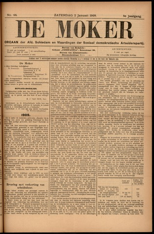 De Moker 1909-01-02
